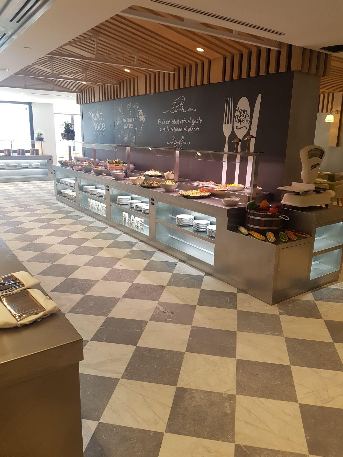 Portfolio aceroinnova fabricante fabricacion mobiliario for Cocina moderna tipo buffet