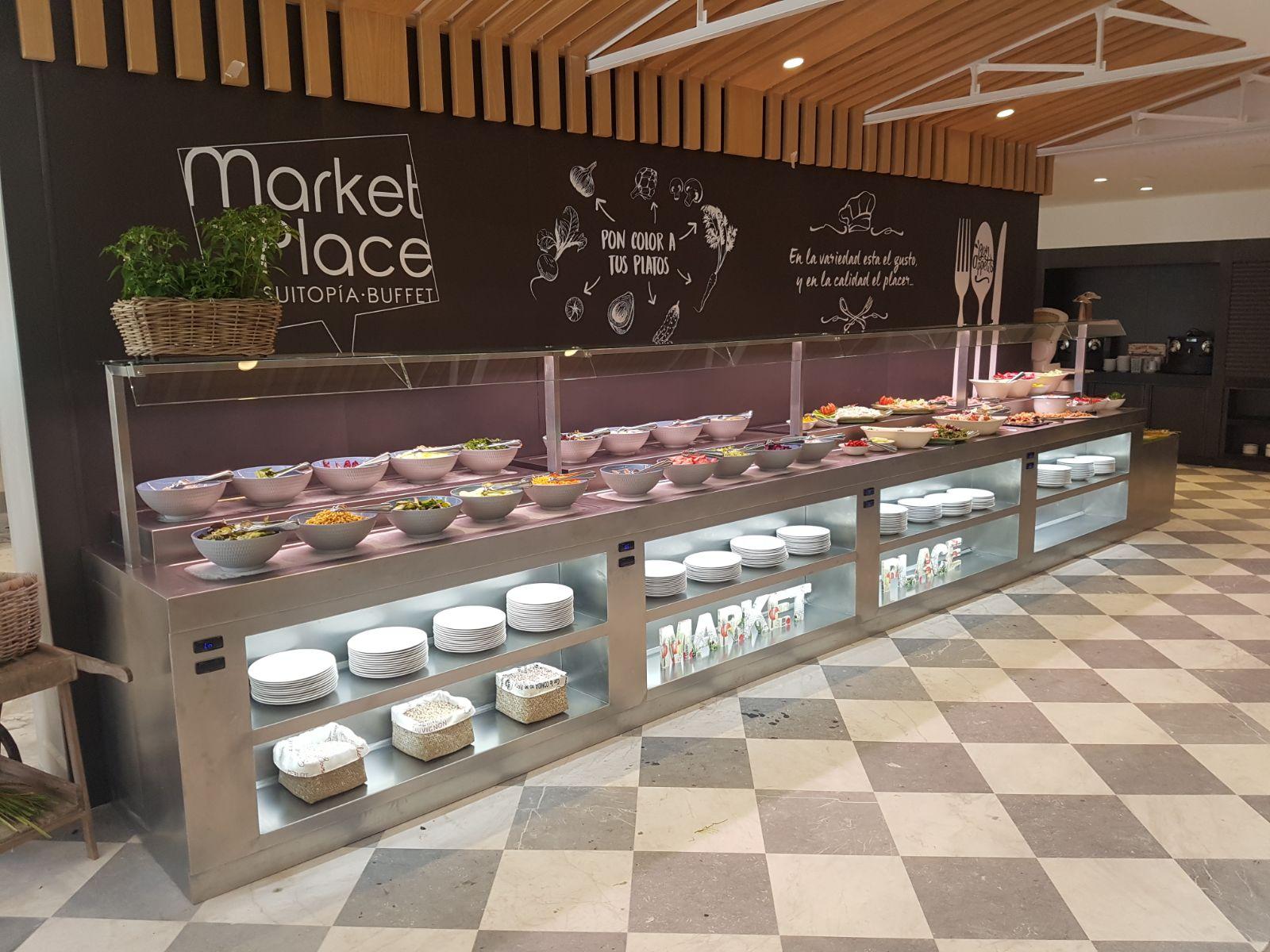 Fabricante fabricacion mobiliario buffets bufets for Cocina moderna tipo buffet
