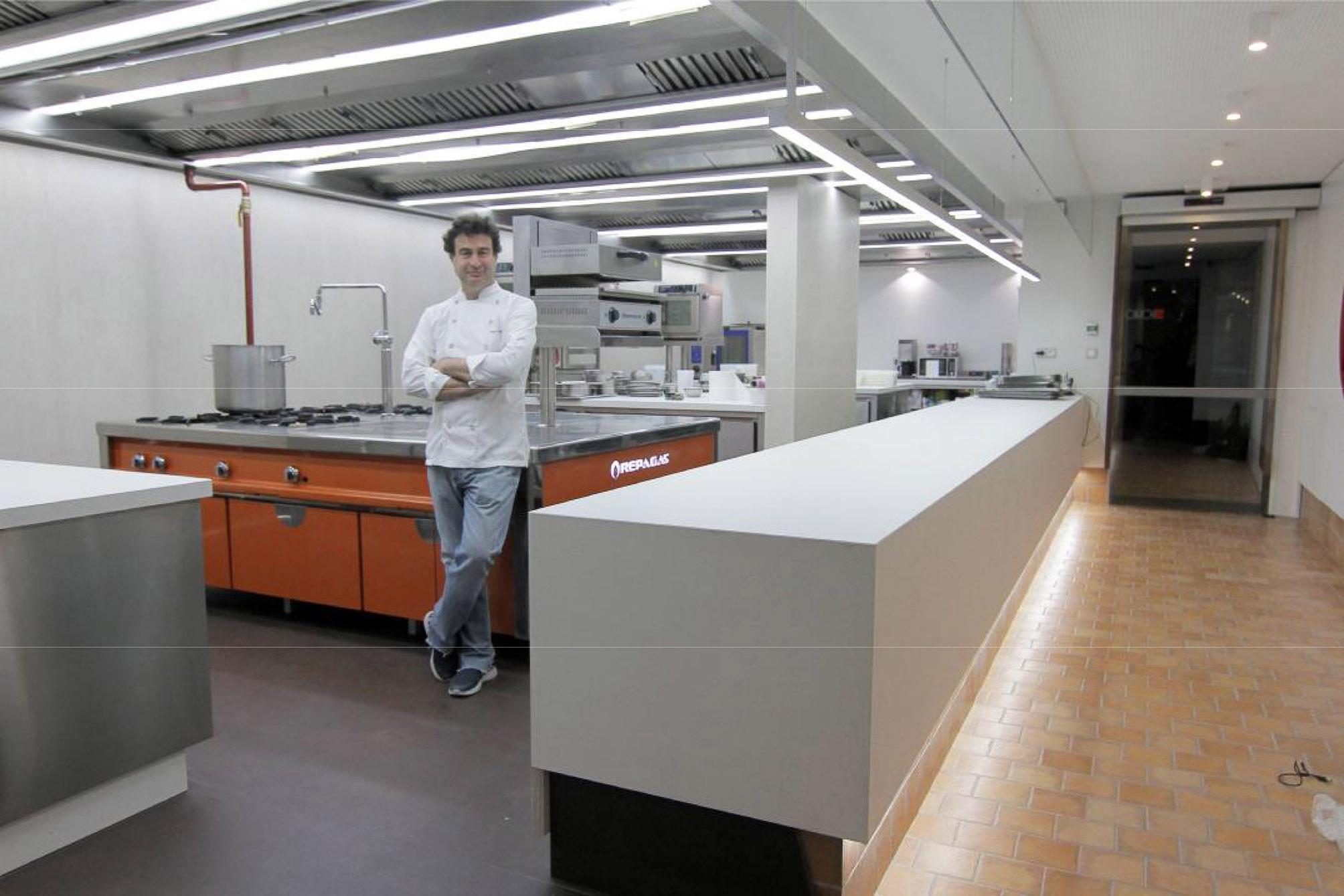 Empresa fabricante instaladora de la sala de cocina for Proyecto cocina restaurante