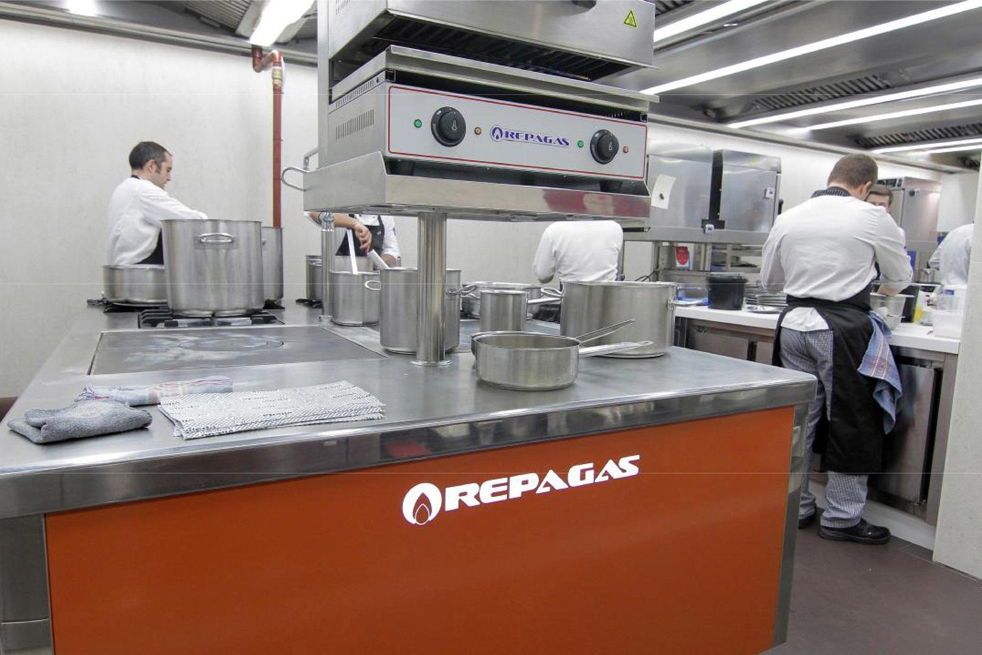 Empresa fabricante instaladora de la sala de cocina for Medidas cocina restaurante