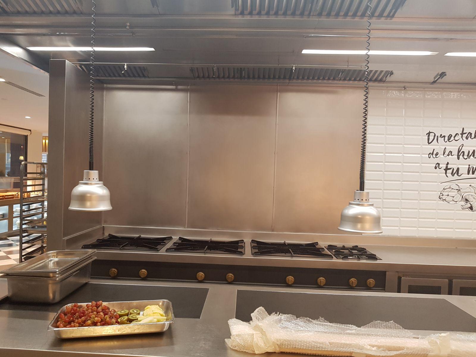Planchas acero inoxidable para cocinas profesionales o - Planchas metacrilato madrid ...