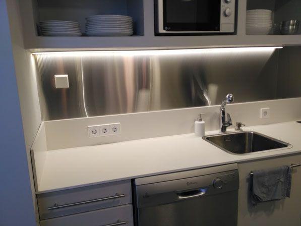 Planchas acero inoxidable para cocinas profesionales o for Planchas de cocina industriales de segunda mano