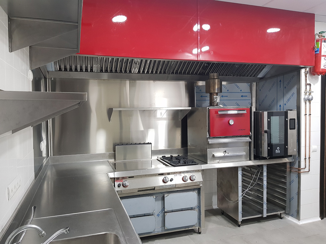 Fabricantes cocinas monoblock dise o fabricaci n instalaci n en madrid ofertas precios - Comedores escolares barcelona ...