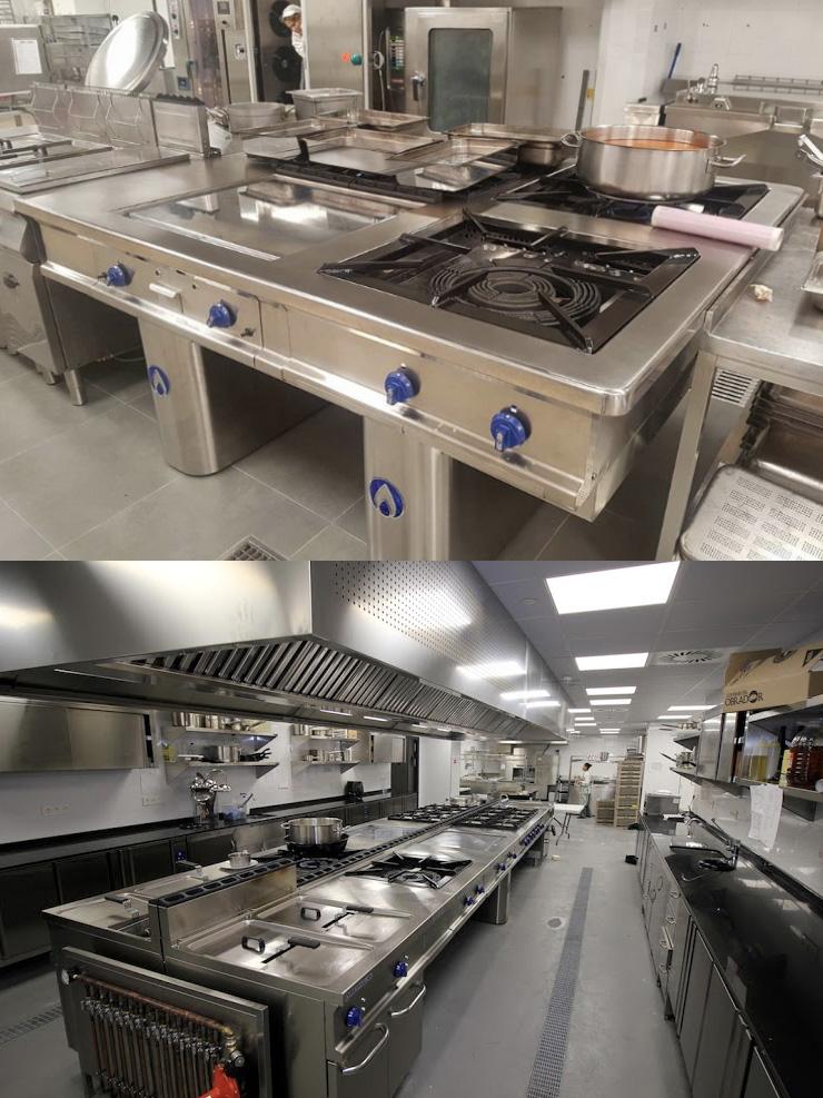 diseño fabricacion cocinas monoblock ofertas precios presupuestos diseño proyectos cocinas monoblock profesionales industriales fabrica fabricantes madrid hoteles restaurantes