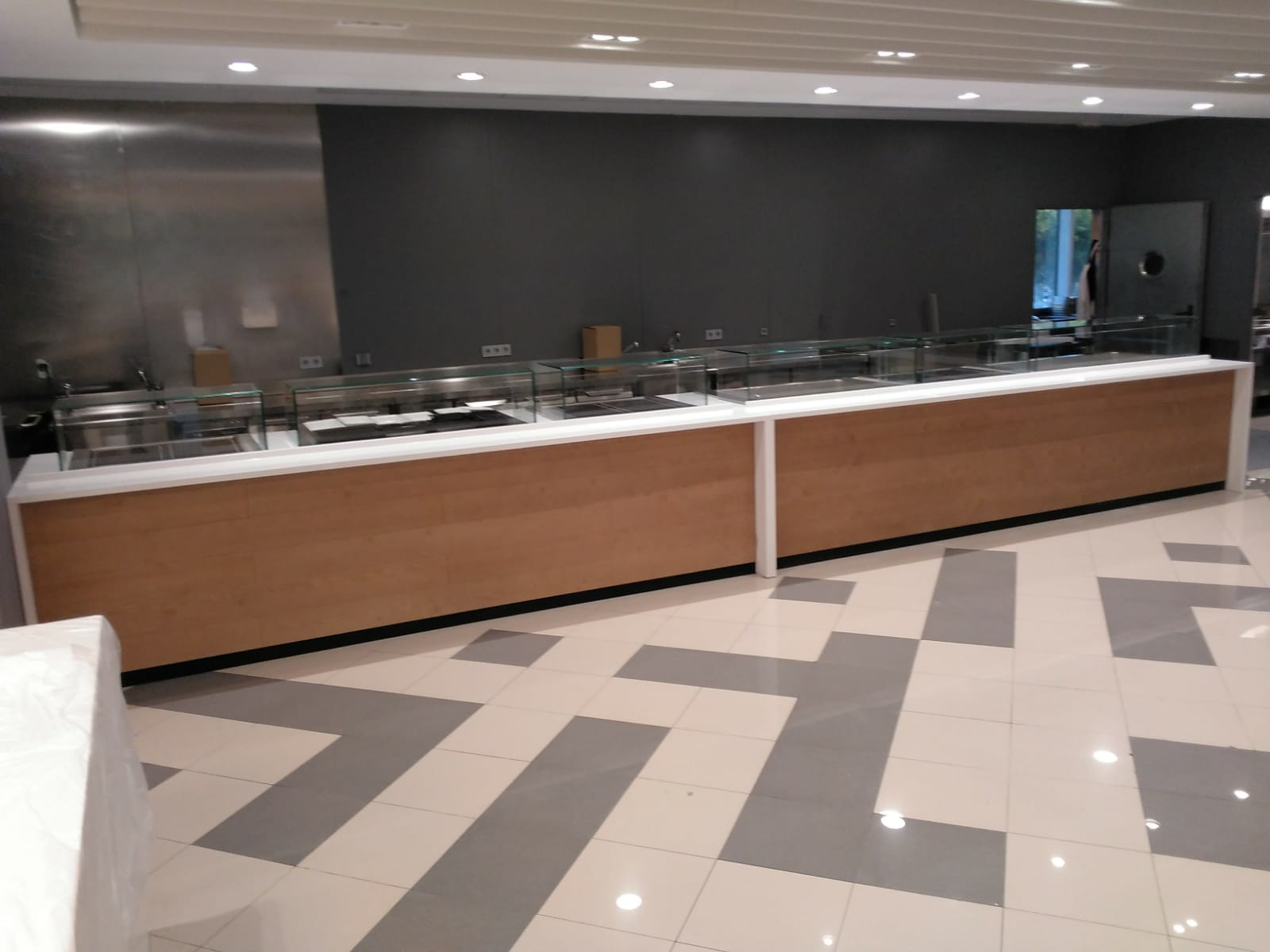 Fabricantes e instaladores del comedor bufet buf buffet for Cocina moderna tipo buffet